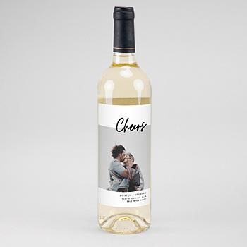 étiquette bouteille mariage vin mastic majestic à personnaliser