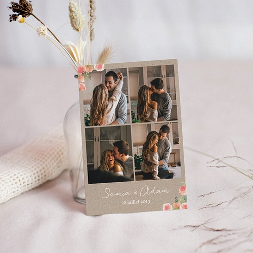 Save The Date Mariage Champêtre Chic