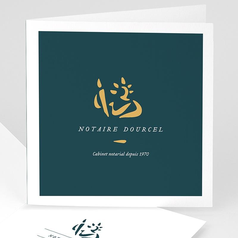 Carte de Voeux Professionnelle - Notaires 70759 thumb