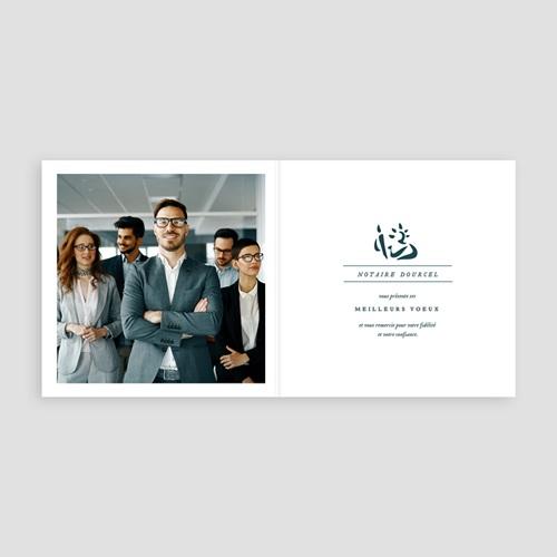 Carte de Voeux Professionnelle - Notaires 70760 thumb