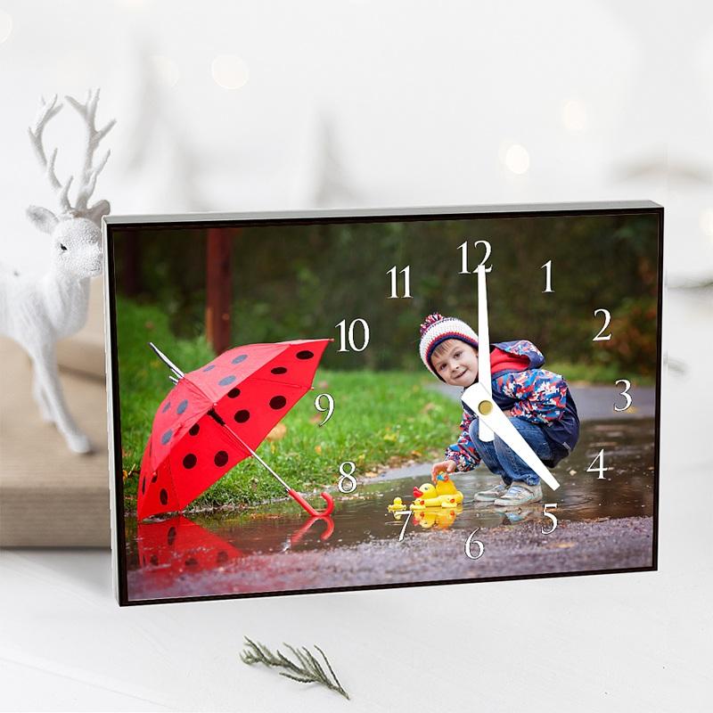 Horloge personnalisée Heure Locale pas cher