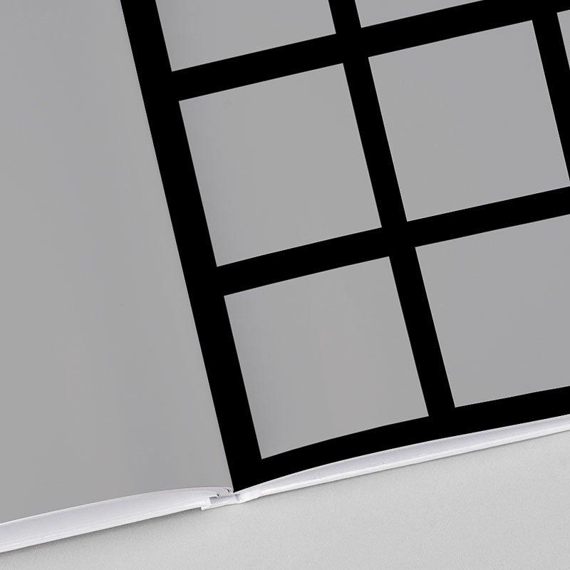 Livre Photo Carré 20 x 20 Luxe noir
