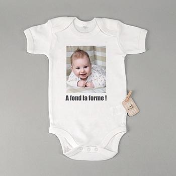 Body bébé - Ma création photo - 2
