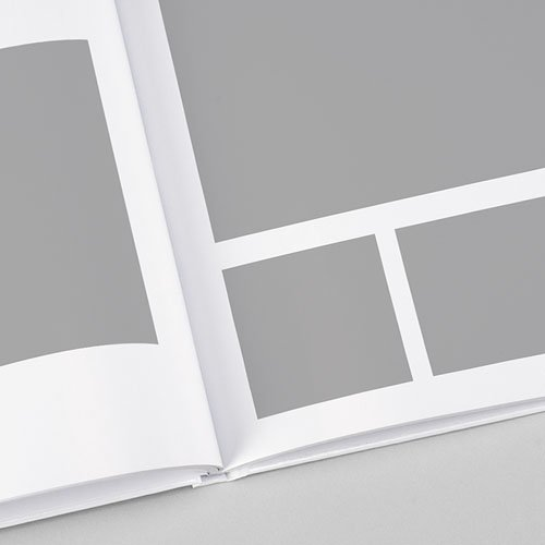 Livre-Photo Carré 30 x 30 Douceur blanche