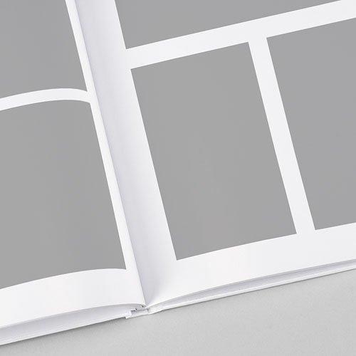 Livre-Photo A4 Portrait - Douceur blanche 71004 thumb