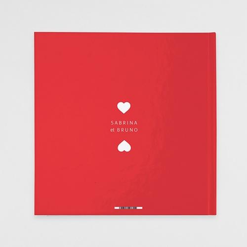 Livre Photo Carré 30 x 30 Rouge magazine pas cher