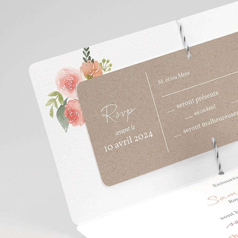 Faire-part mariage champêtre Champêtre Chic gratuit