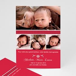 Faire-Part Naissance Bébé de Noël