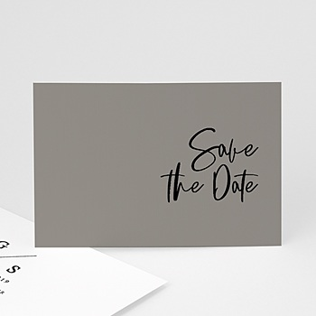 Save-The-Date - Effet Brush - 0