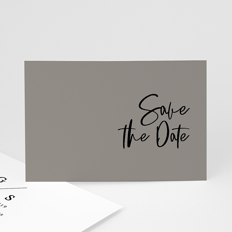 Save The Date Mariage Effet Brush