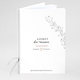 Livrets de Messe Mariage Trait Cannelle