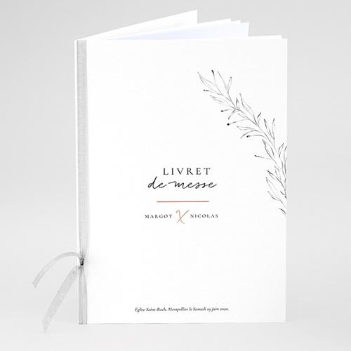 Livret Messe Mariage Trait Cannelle