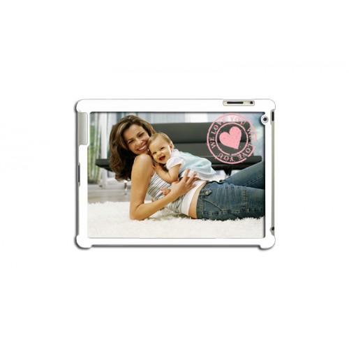 Coque Iphone 4/4s personnalisé - Coque ipad 2 personnalisée - blanche 7134