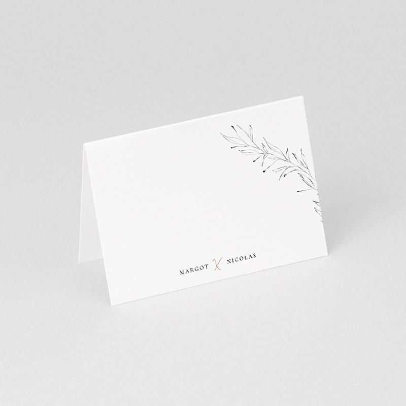 Marque place mariage Calligraphie Cannelle gratuit