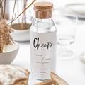 Étiquette bouteille mariage vin Effet Brush gratuit