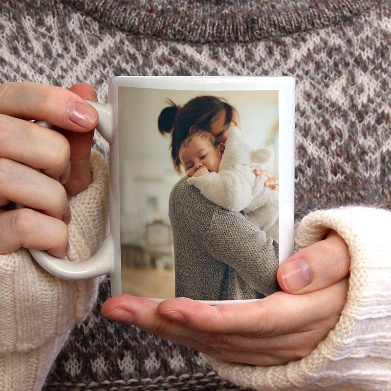 Mug Personnalisé Fête des Mères Cadeau avec photo personnalisé maman gratuit