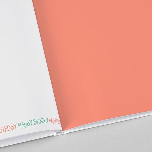 Livre-Photo A5 paysage Anniversaire Coloré