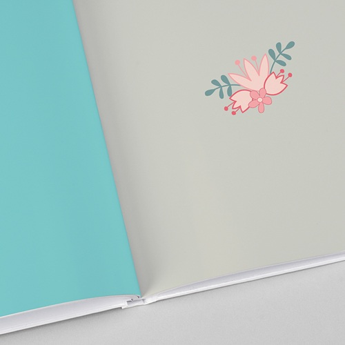 Livre Photo A4 Portrait Floral