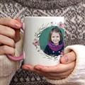 Mug Personnalisé Photo Rose & Pétales gratuit