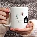 Mug Personnalisé Noël Merry and Happy gratuit