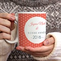 Mug Personnalisé - Rose Noel 71682 thumb