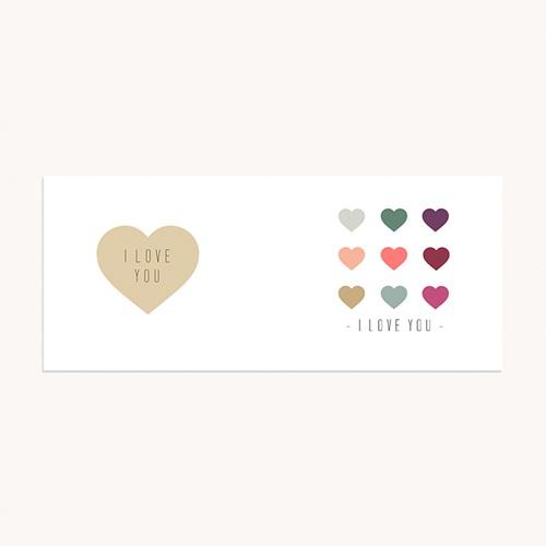 Mug Personnalisé - Coeurs de couleurs 71683 thumb