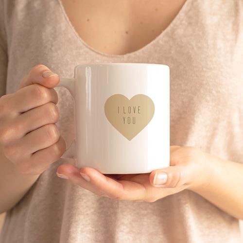 Mug Personnalisé - Coeurs de couleurs 71684 thumb