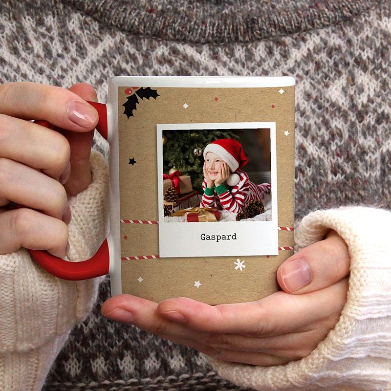 Mug Personnalisé de Couleur Christmas Tea gratuit