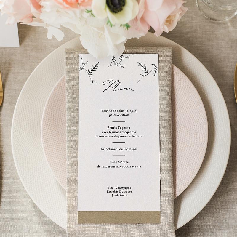 Menu Mariage Jardin Culinaire gratuit