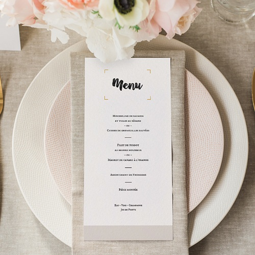Menu Mariage Aventure Culinaire gratuit