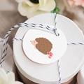 Etiquette Cadeau Naissance Herissonne gratuit