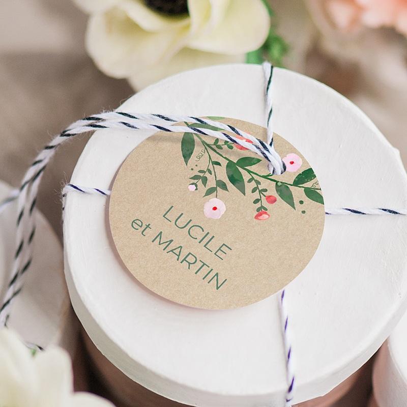 Etiquette Cadeau Mariage Sous la tonnelle gratuit
