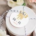 Etiquette Mariage Boho Olive gratuit
