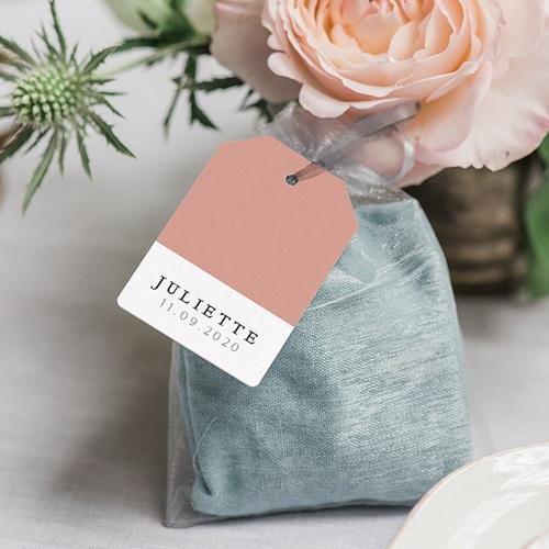 Etiquette Cadeau Naissance Pretty Pink gratuit