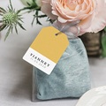 Etiquette naissance Bicolore Yellow gratuit