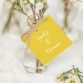 Etiquette Cadeau Mariage Parfum d'agrumes