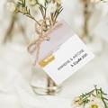 Etiquette Cadeau Mariage Rose quartz