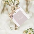 Etiquette Cadeau Mariage Vintage Rose Chic