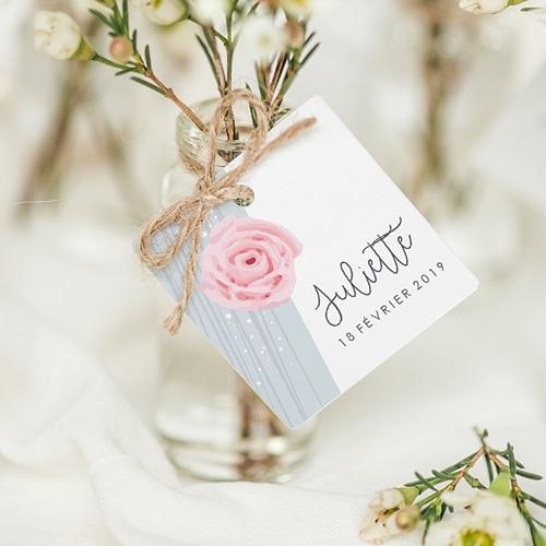 Etiquette Cadeau Naissance Sweet Candy
