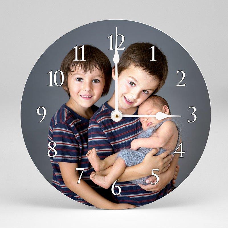 Horloge Personnalisée Photo Portrait