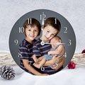 Horloge Personnalisée Photo Portrait pas cher