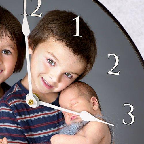 Horloge Personnalisée Photo Portrait gratuit