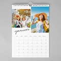 Calendrier Typo Brush A3