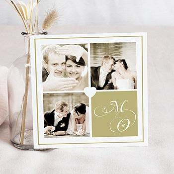 Acheter cartes multi-photos 3 et + effet sépia - 3 photos