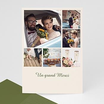 Cartes multi-photos 3 et + 6 photos et petits carrés pas cher