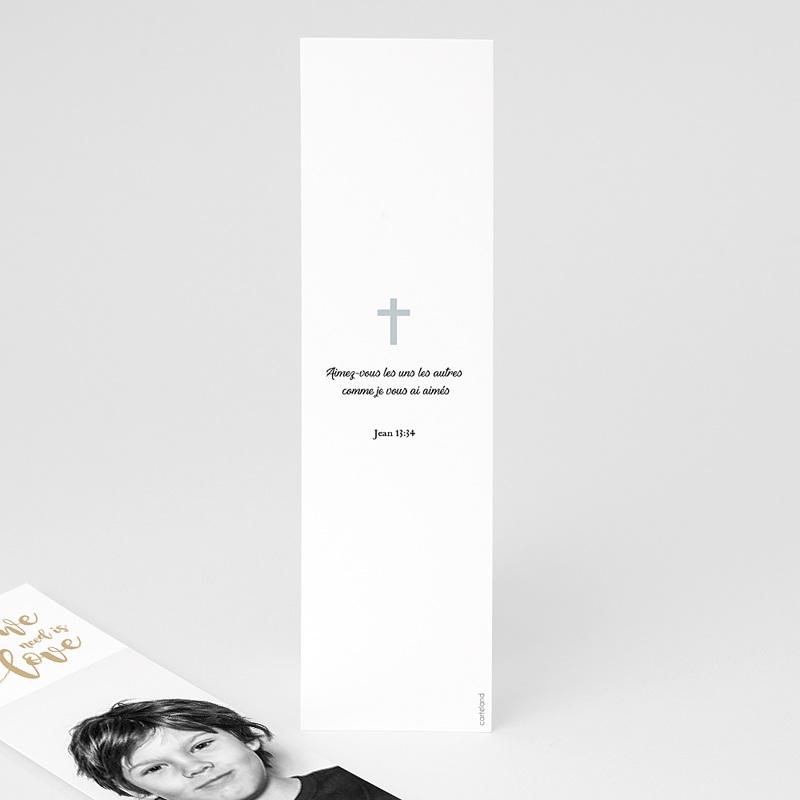 Marque Page Communion Jésus m'aime pas cher