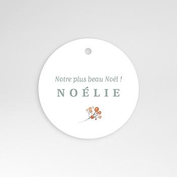 Étiquette Naissance - Noel Liberty - 0