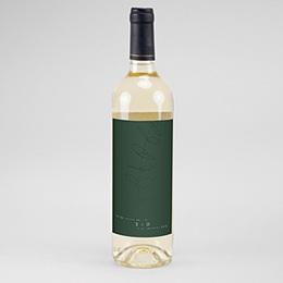 Étiquette bouteille mariage vin Eucalyptus