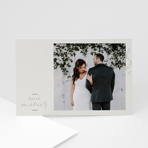 Carte Remerciement Mariage Chic Eucalyptus