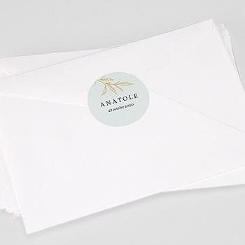 Etiquette autocollante naissance - Joli Brin - 0